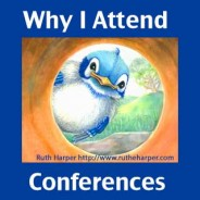 Why I Go to Writing Conferences