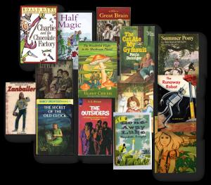 Some of Denise Vega's childhood books