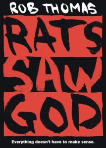 Rats Saw God by Rob Thomas - new release cover