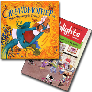 GRANDMOTHER book and HIGHLIGHTS magazine