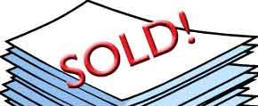 Sold manuscript