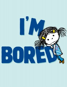 I'm Bored by Michael Ian Black illustrated by Debbie Ridpath Ohi