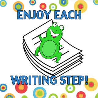 Enjoy each writing step