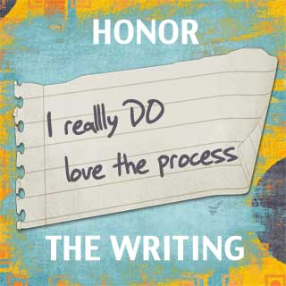 Honor the writing
