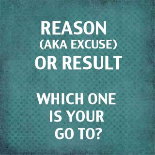 Reason or Result: You Can't Have Both
