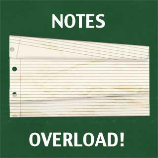 Workshop Notes Overload!